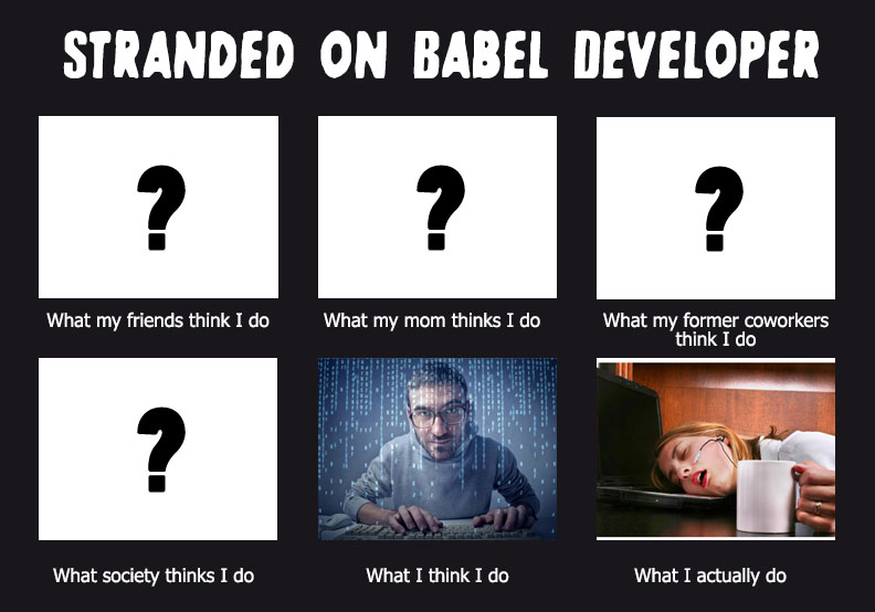 Stranded on Babel Developer